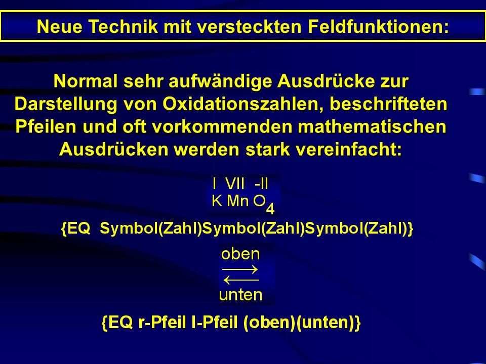Nur in LiTeX: Sprachausgabe spricht Sonderanwendungen Einige Beispiele \f(Z;N) Bruch \r(R) Wurzel \a(o;m;u) Matrix \b(A) runde Klammern \b\bc\[(A) eck