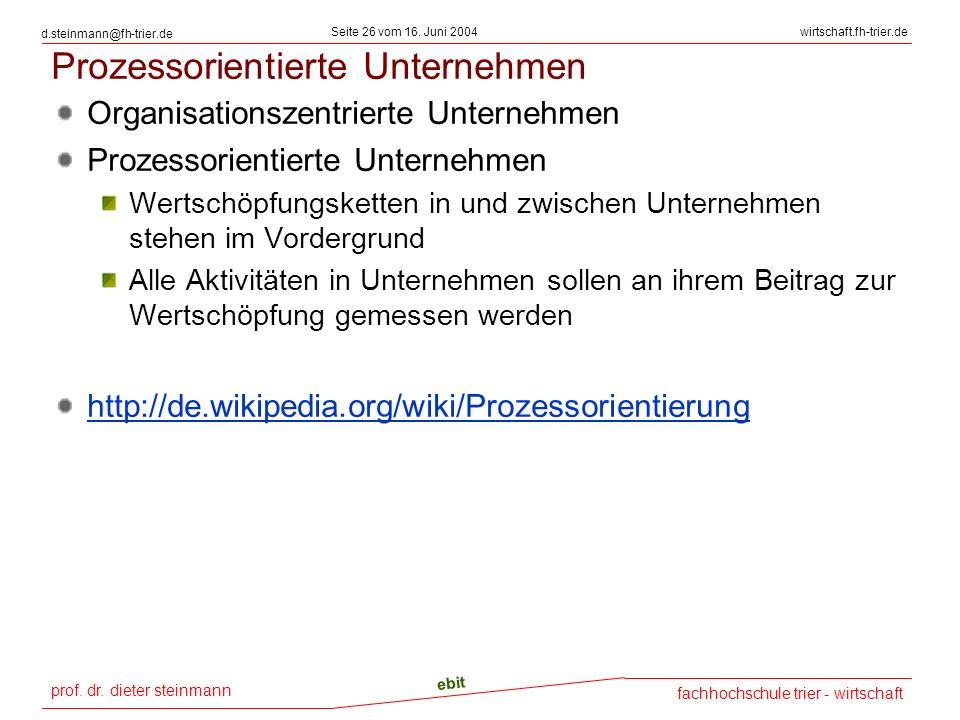 prof.dr. dieter steinmann Seite 26 vom 16.