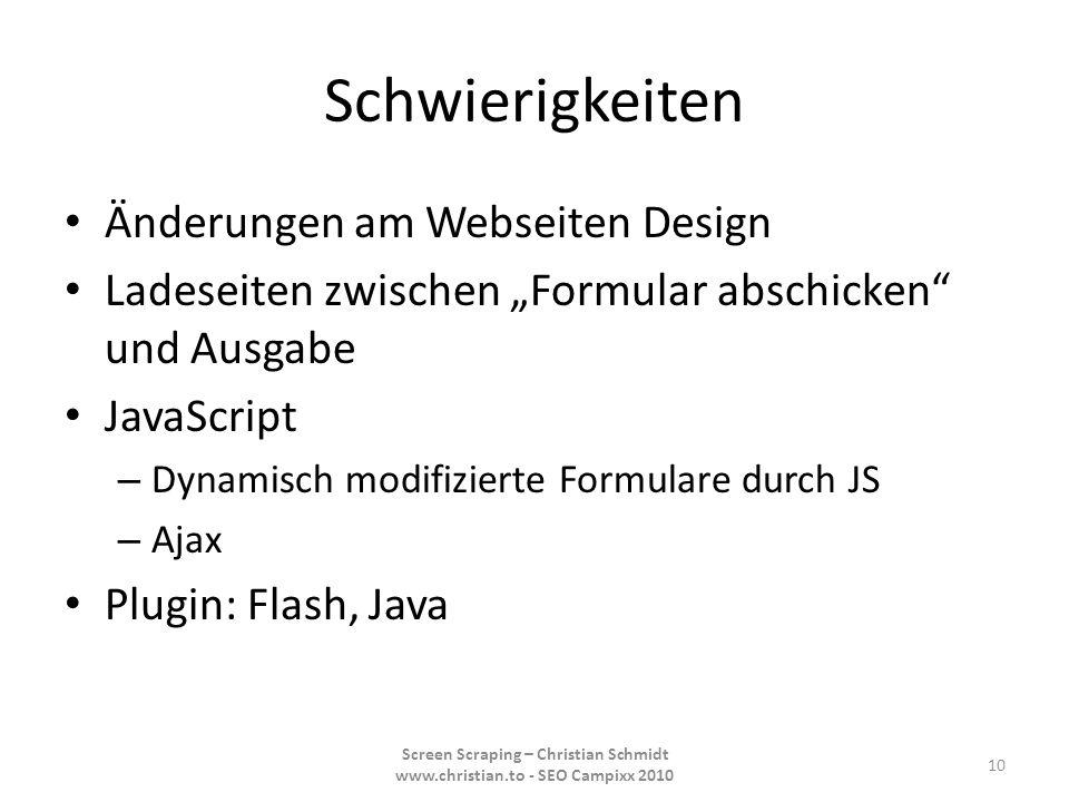 Schwierigkeiten Änderungen am Webseiten Design Ladeseiten zwischen Formular abschicken und Ausgabe JavaScript – Dynamisch modifizierte Formulare durch