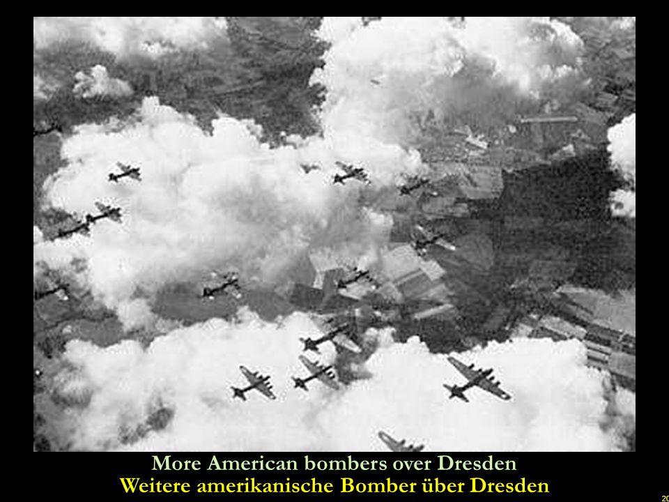 19 Let it rain…let it rain…American B17 bombers unloading Lass es regen...
