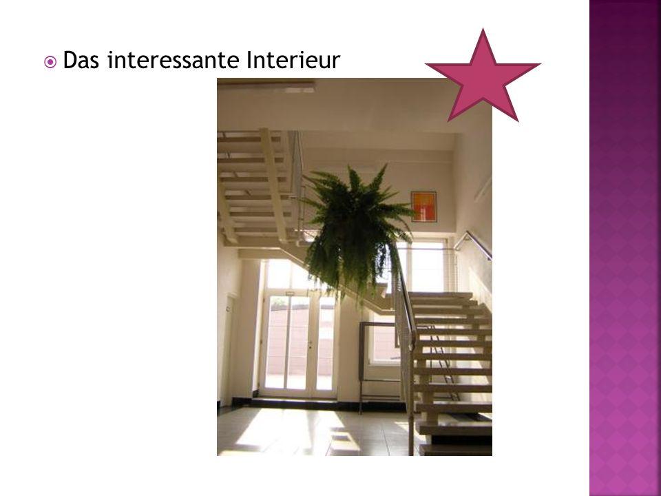 Das interessante Interieur