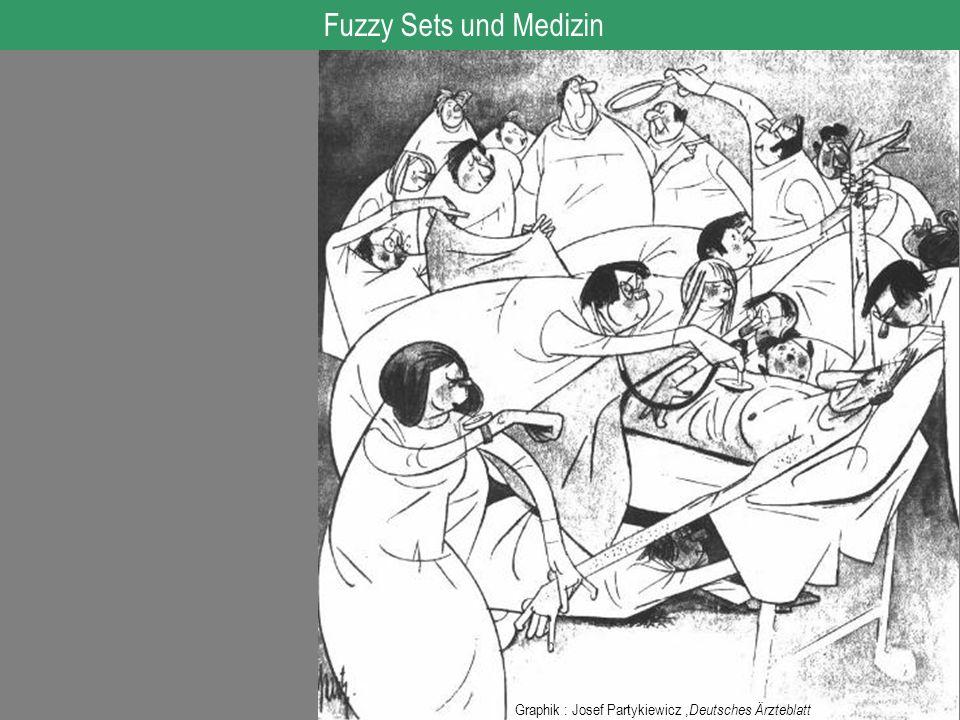 Graphik : Josef Partykiewicz, Deutsches Ärzteblatt Fuzzy Sets und Medizin