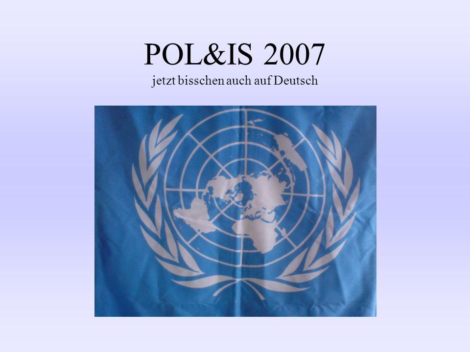 POL&IS 2007 jetzt bisschen auch auf Deutsch