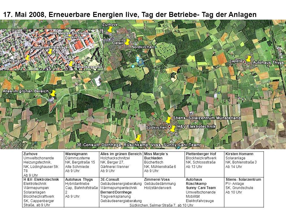 Dienstag 20. Mai 19.30 Gaststätte Brosterhues Südkirchen Dokumentarfilm Diskussion
