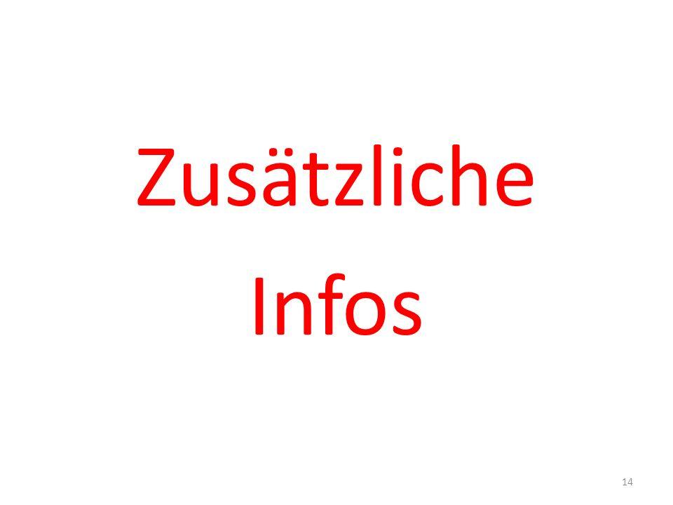 Zusätzliche Infos 14