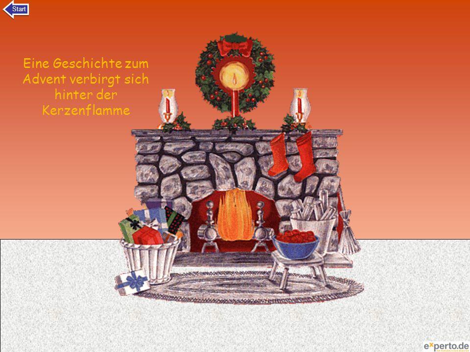 Eine Geschichte zum Advent verbirgt sich hinter der Kerzenflamme Start
