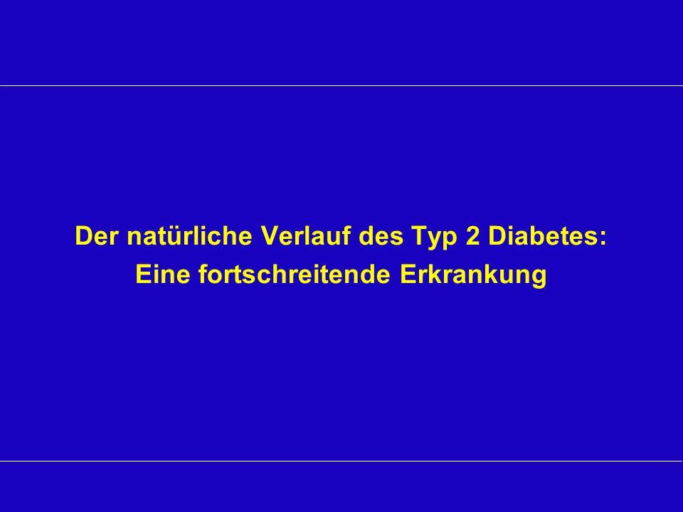 Der natürliche Verlauf des Typ 2 Diabetes: Eine fortschreitende Erkrankung