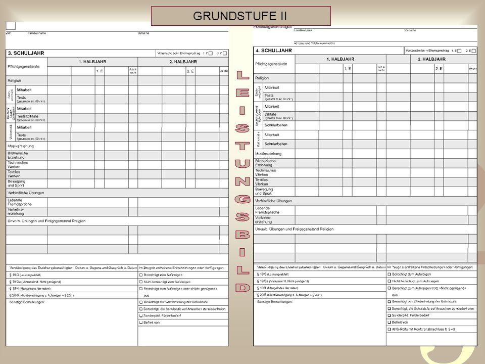 GRUNDSTUFE II