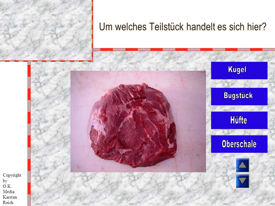 Um welches Teilstück handelt es sich hier? Copyright by O.K. Media Karsten Reich