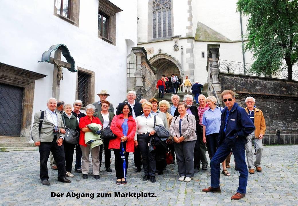 Der Abgang zum Marktplatz.
