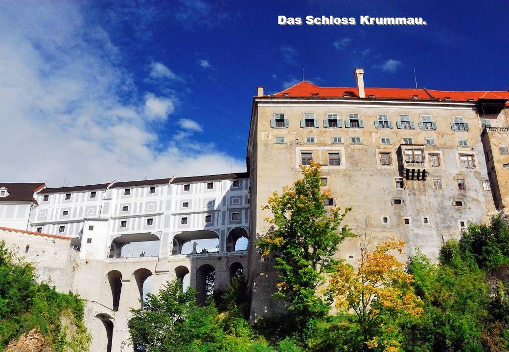 Das Schloss Krummau.