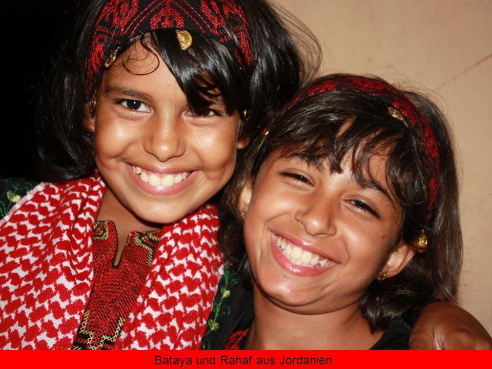Bataya und Rahaf aus Jordanien