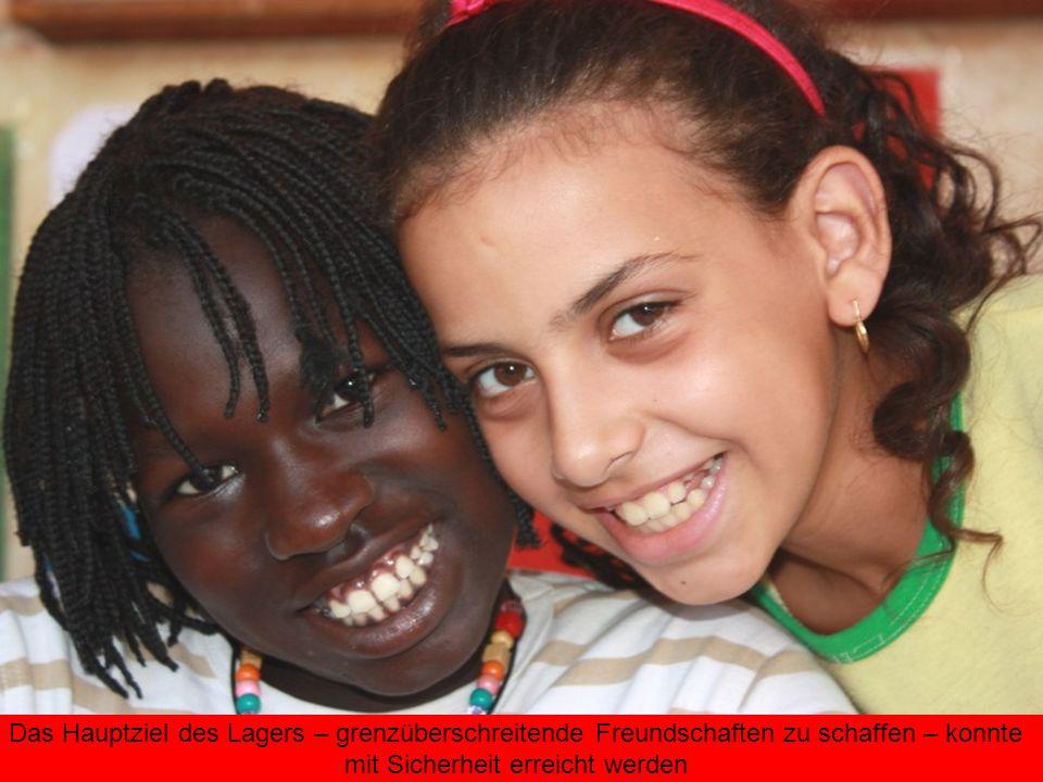 Das Hauptziel des Lagers – grenzüberschreitende Freundschaften zu schaffen – konnte mit Sicherheit erreicht werden