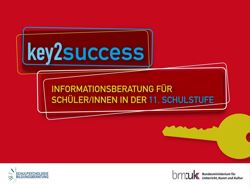 © 2009, bm:ukk, Abt. I/15 http://key2success.schulpsychologie.at Weitere Infos im Internet