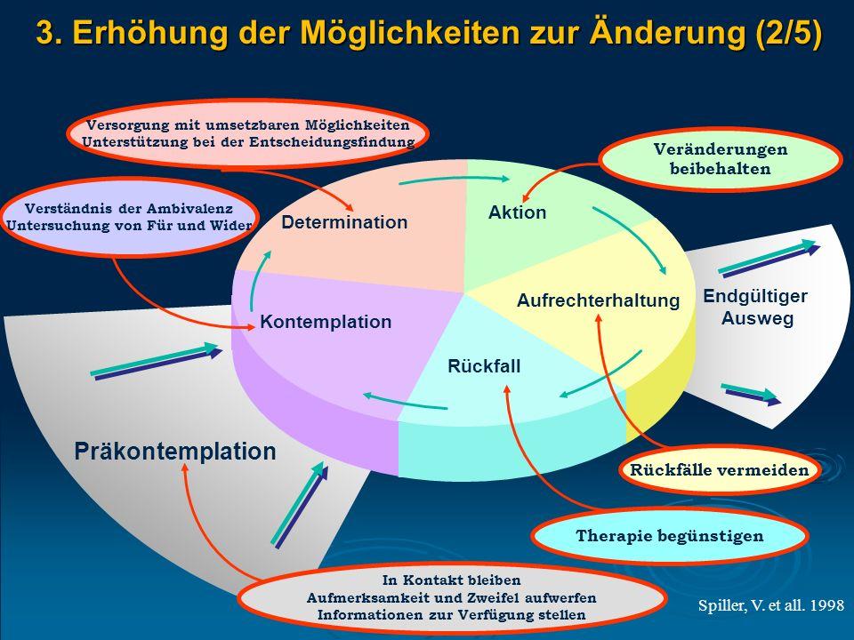 Kontemplation Determination Aktion Aufrechterhaltung Rückfall Präkontemplation Endgültiger Ausweg In Kontakt bleiben Aufmerksamkeit und Zweifel aufwer