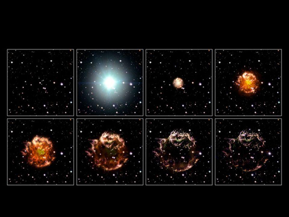 1) Einsteinsche Gravitationslinse Ablenkung des Lichtes wie bei einer Glaslinse