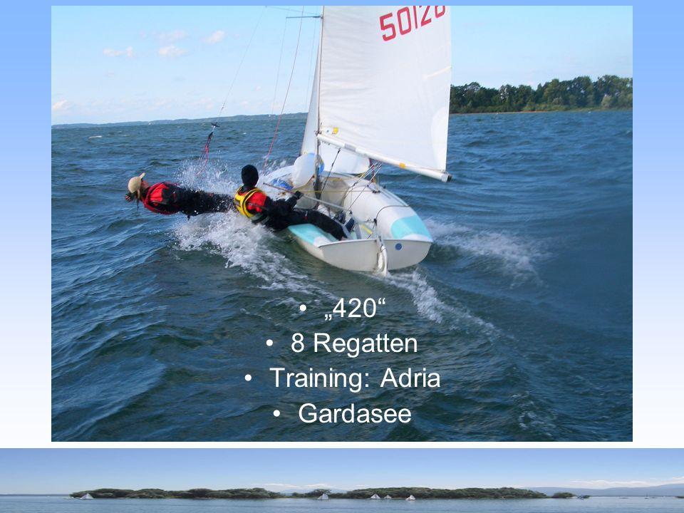 420 8 Regatten Training: Adria Gardasee