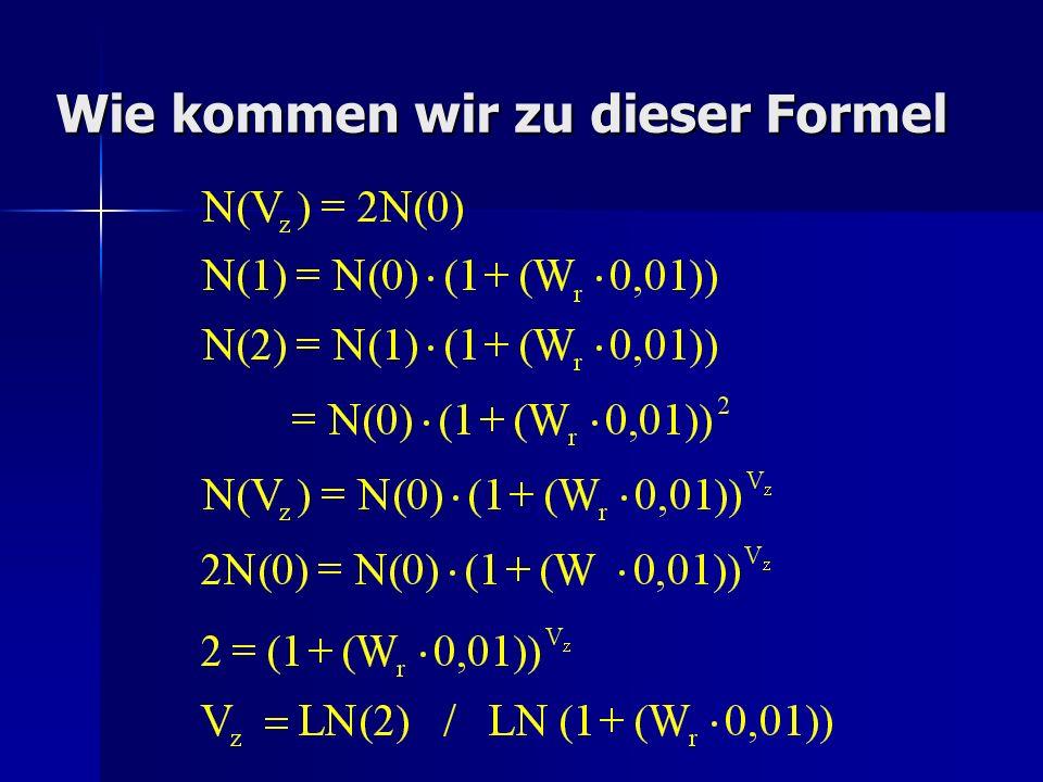 Logarithmen Um dies herauszufinden, mussten wir zuerst einige Regeln der Logarithmen erlernen.
