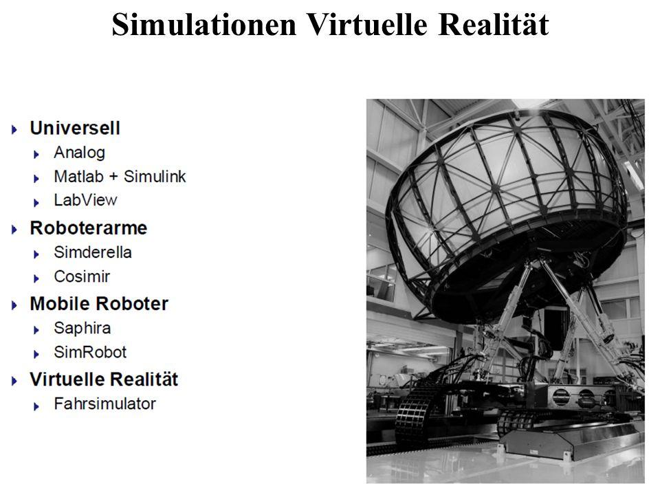 Simulationen Virtuelle Realität