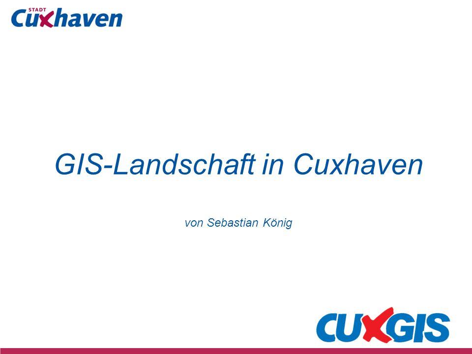 GIS-Landschaft in Cuxhaven von Sebastian König