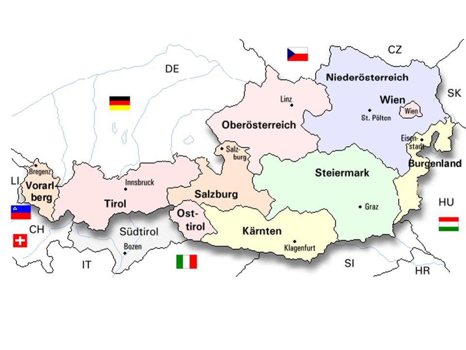 Was habt ihr euch gemerkt.Wie sieht die österreichische Flagge aus.
