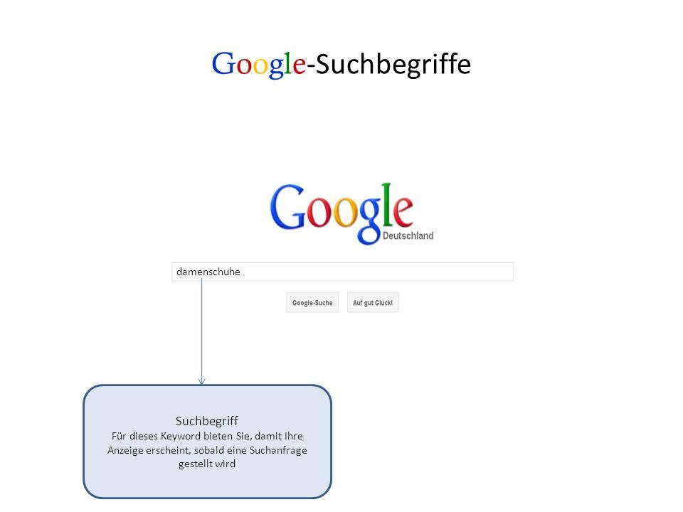Google -Suchergebnisse: Die Anzeigen Für die Schaltung der Anzeige zahlen Sie nicht, lediglich für den Klick auf Ihre Seite zahlen Sie ein sogenanntes CPC*.