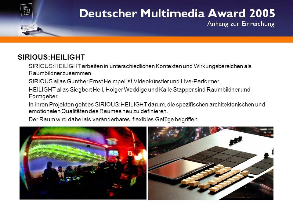 DER BEWEGTE RAUM Eine interaktive visuelle Rauminstallation DER BEWEGTE RAUM ist als offizieller Beitrag der Passagen 2005 - Interior Design in Köln (17.-23.01.2005) in der A11Bar erstmalig ausgestellt worden.
