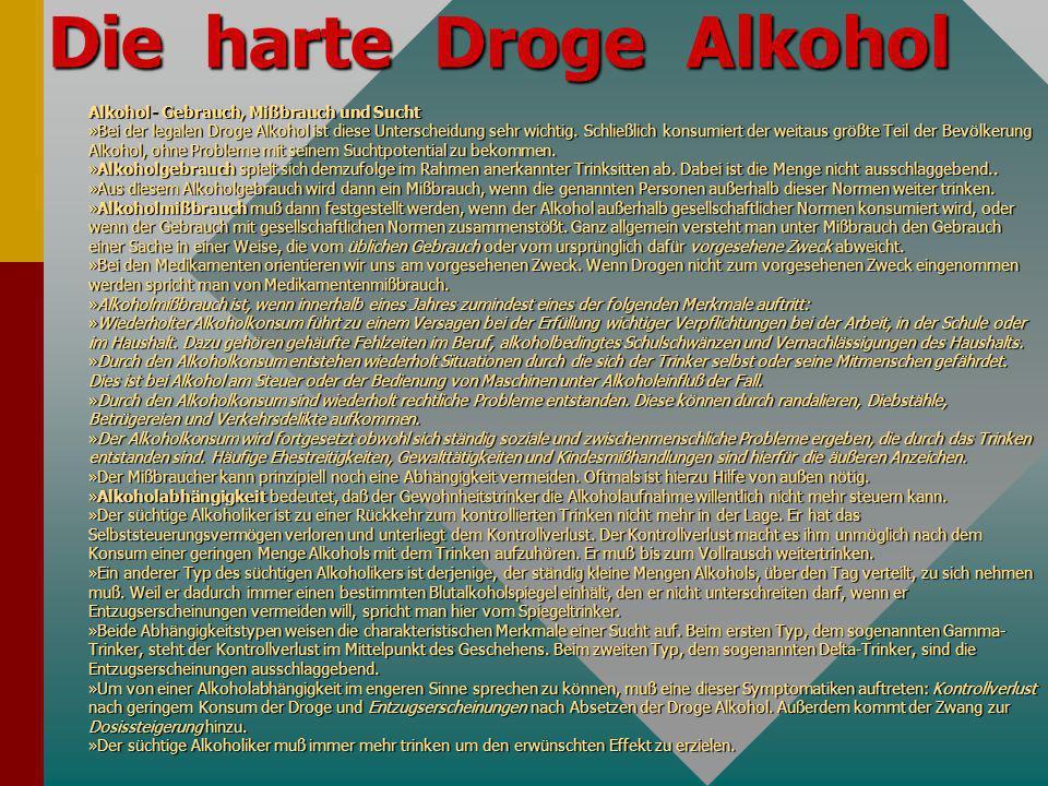 1. Unterscheidung: 1. Unterscheidung: –stoffungebunden - stoffgebunden 2. Unterscheidung -Legal - illegal Allgemeine Suchtmittelkunde: Der Rausch –Der