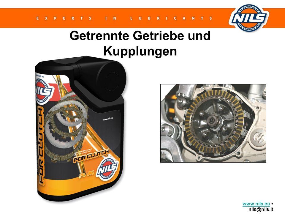 www.nils.euwww.nils.eu nils@nils.it Getrennte Getriebe und Kupplungen