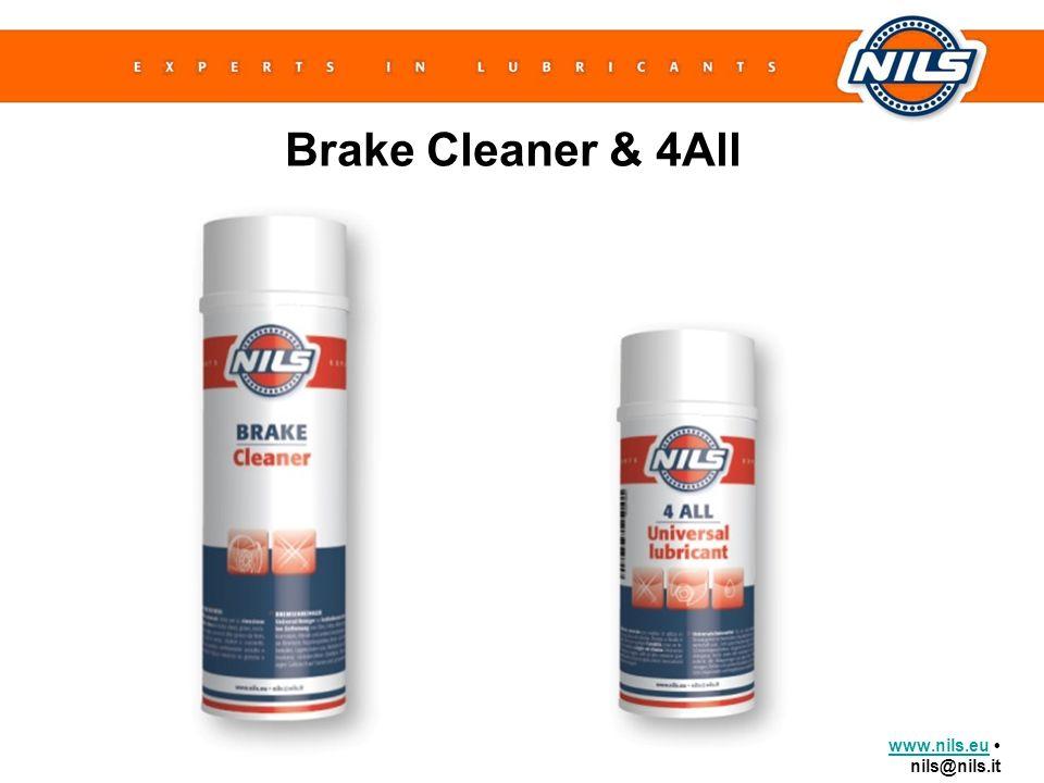 www.nils.euwww.nils.eu nils@nils.it Brake Cleaner & 4All