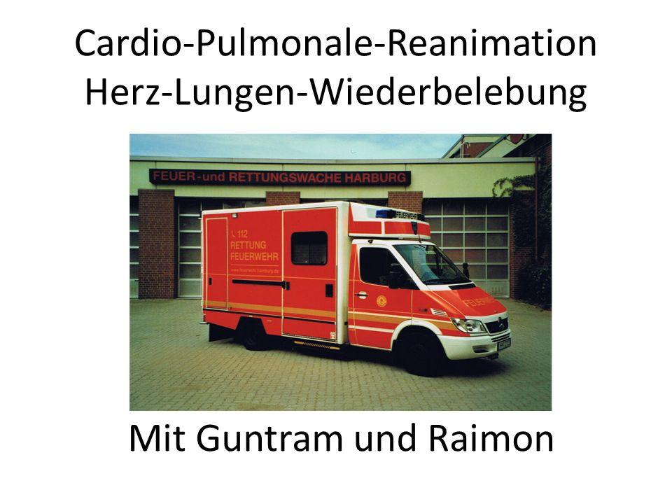 Cardio-Pulmonale-Reanimation Herz-Lungen-Wiederbelebung Mit Guntram und Raimon