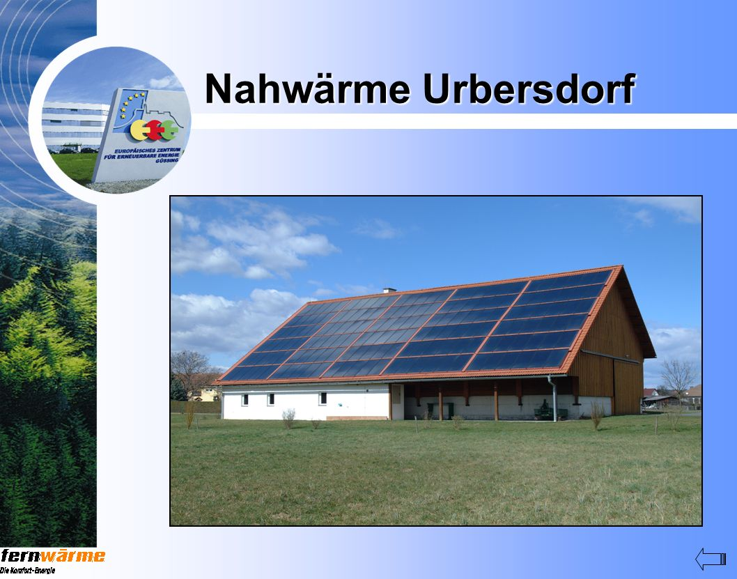 Nahwärme Urbersdorf