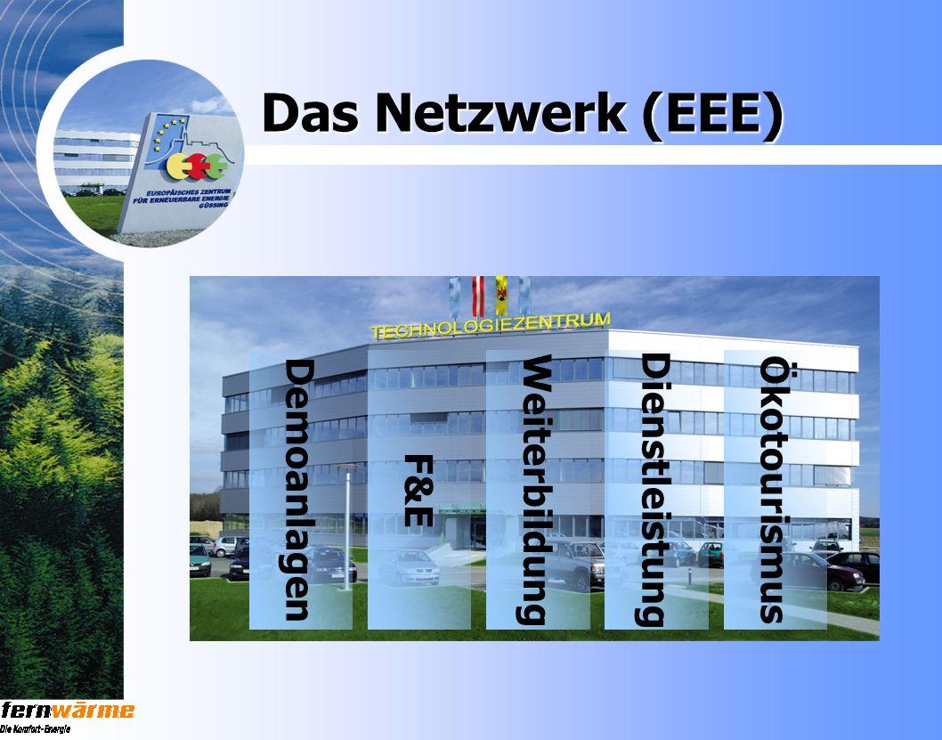 Das Netzwerk (EEE) Ökotourismus Demoanlagen F&E Weiterbildung Dienstleistung