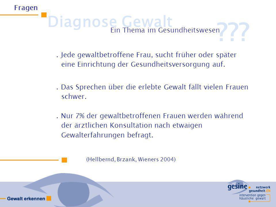 Situation im Ennepe- Ruhr-Kreis 2002.Frauenhaus und Frauenberatung waren niedergelassenen ärztlichen und therapeutischen Praxen zu wenig bekannt.AnbieterInnen gewaltsensibler Versorgung waren den betroffenen Frauen zu wenig bekannt.Akteure benennen Frustrationserlebnisse im Umgang mit gewaltbetroffenen Frauen, beklagen Zeit- und Ressourcenmangel.Rechtliche Rahmenbedingungen waren vielen Akteuren unklar Analyse
