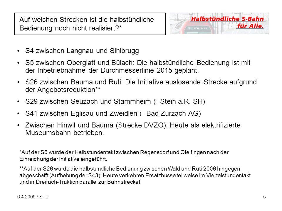 6.4.2009 / STU6 Wieso soll man Ja zur Initiative stimmen.