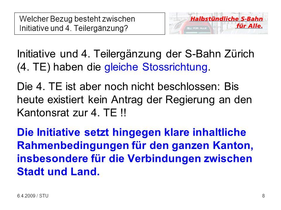 6.4.2009 / STU9 Was meint das Initiativkomitee zum indirekten Gegenvorschlag.