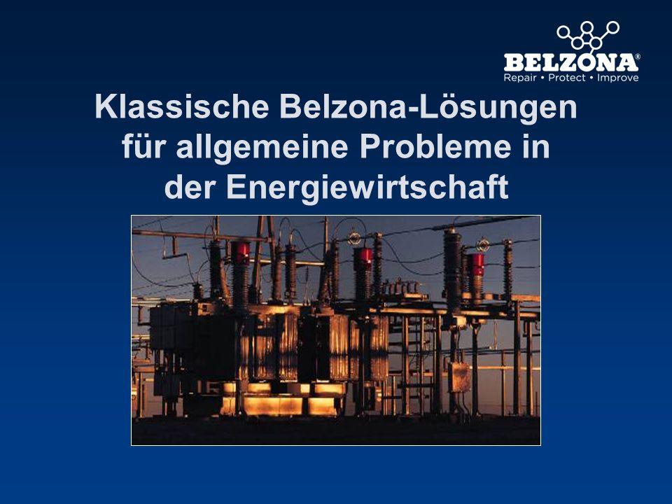 Klassische Belzona-Lösungen für allgemeine Probleme in der Energiewirtschaft