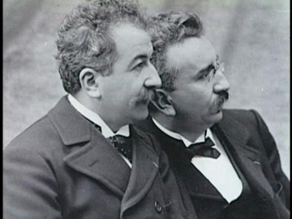 1895 Geburtsjahr des modernen Films.