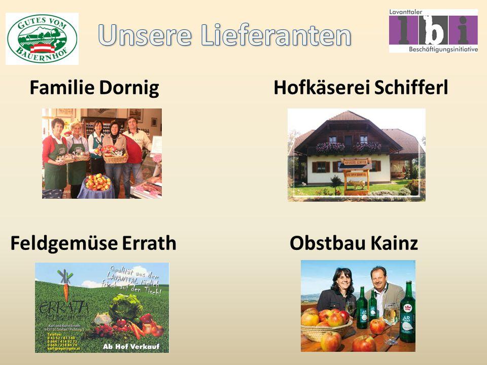 Familie Dornig Hofkäserei Schifferl Feldgemüse Errath Obstbau Kainz