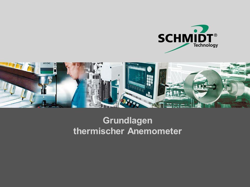 Grundlagen thermischer Anemometer