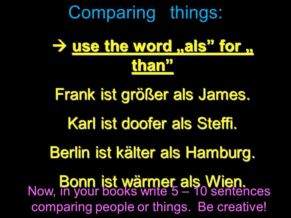 worksheet: using comparisons & superlatives