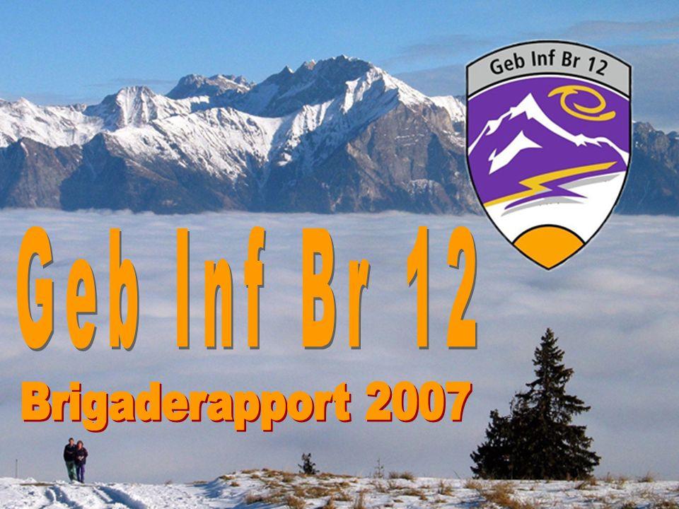 19 Geb Inf Br 12 Brigaderapport 19. 1. 2007