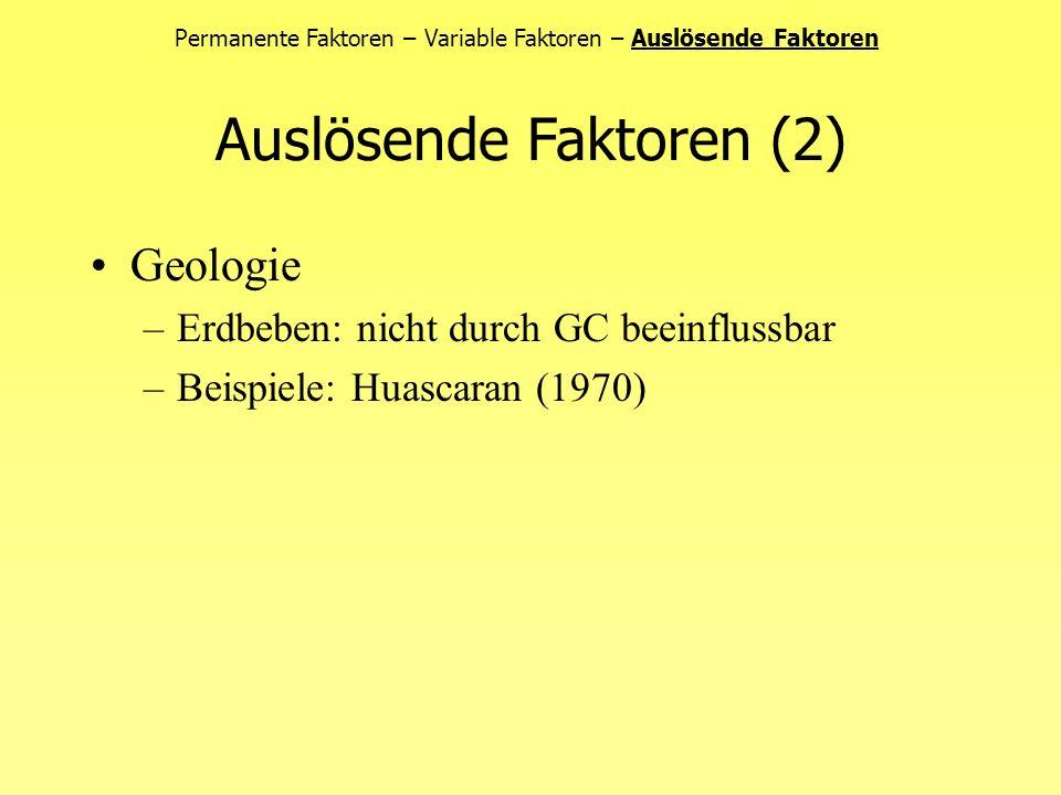 Hydrogeologie –Porenwasserdruck (insbes.