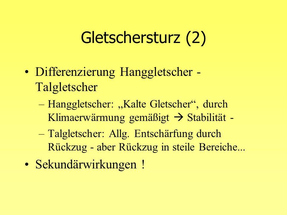 Bedeutung im Alpenraum .–Beispiel Eigergletscher ca.