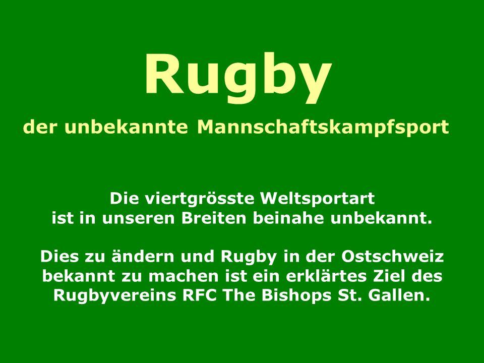 Rugby der unbekannte Mannschaftskampfsport Die viertgrösste Weltsportart ist in unseren Breiten beinahe unbekannt.