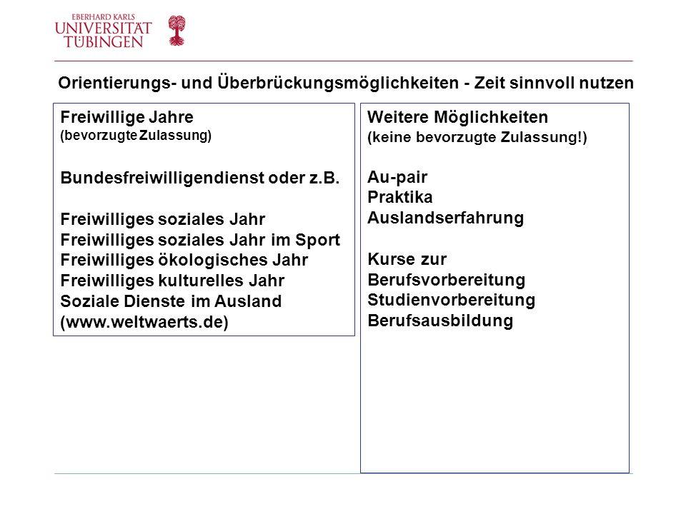 Die Zulassungsregeln bei hochschulstart.de