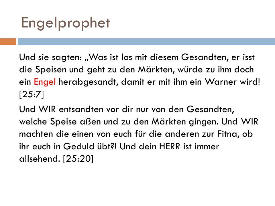 Indizien für Maryams Prophetenschaft IV.