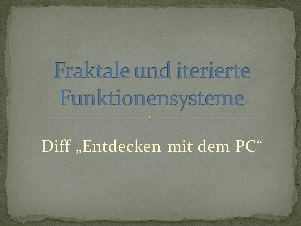 Diff Entdecken mit dem PC