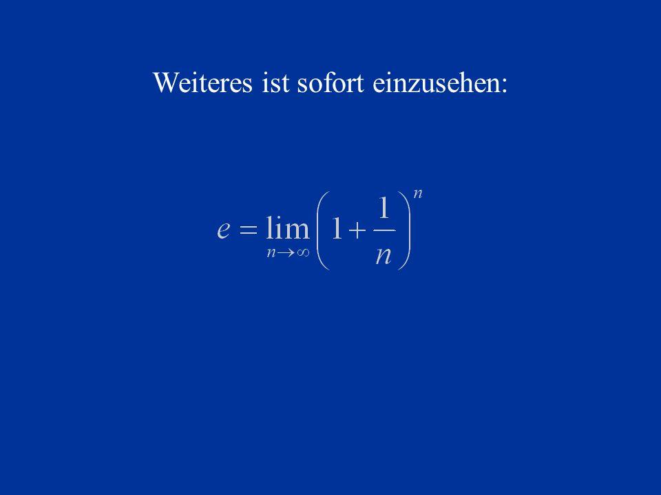 Deshalb kann nun zu folgender Form vereinfacht werden: Spätestens jetzt ist offensichtlich, dass diese Gleichung viel klarer und leichter zu verstehen ist als