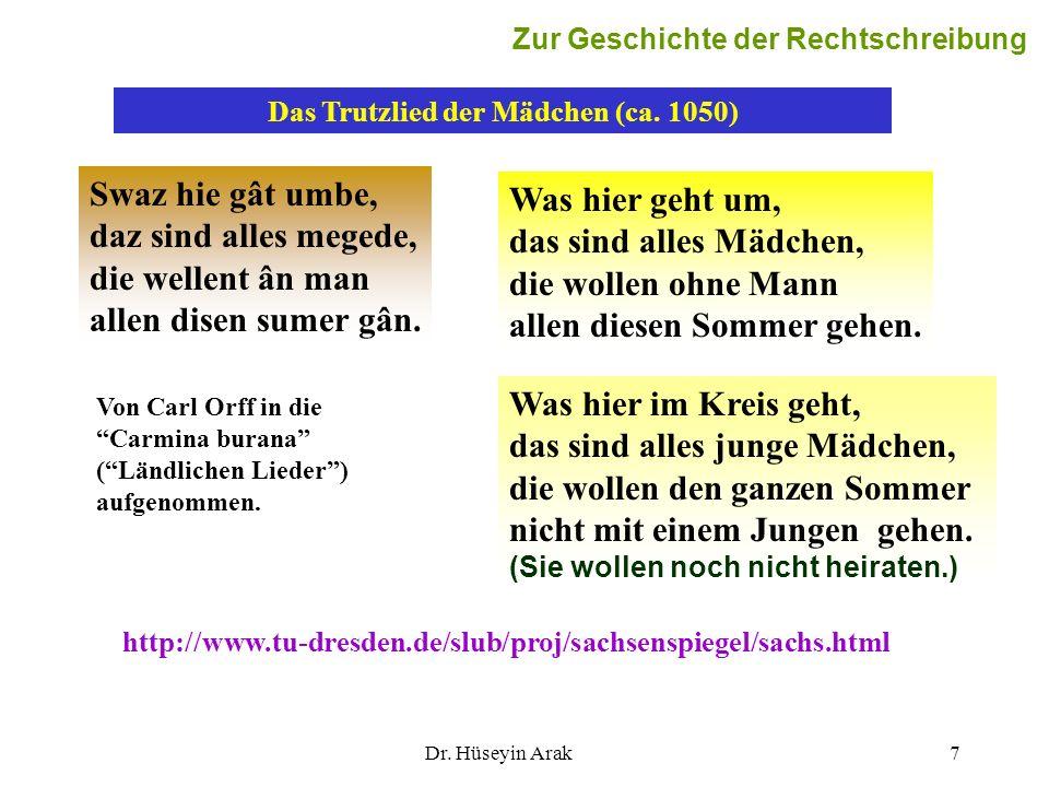 Martin Luther: Die Luther- Bibel von 1545 Martin Luther übersetzt (mit Mitarbeitern) die Bibel, richtet sich in der Orthografie nach der sächsisch-meißnischen Kanzlei.
